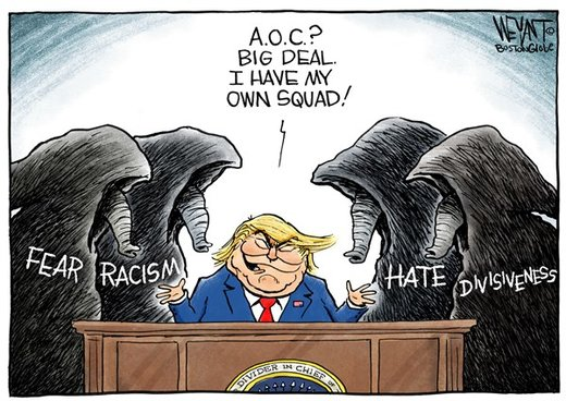 مشاوران ترامپ برای انتخابات 2020 را ببینید!