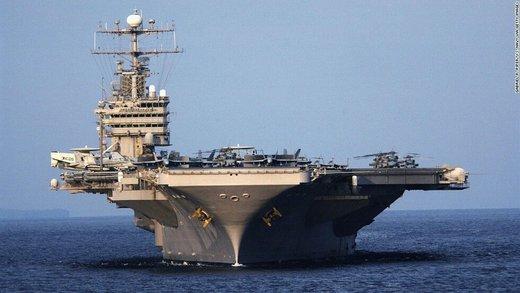 سی.ان.ان: ملوان ناو هواپیمابر آمریکا در خلیج فارس ناپدید شد