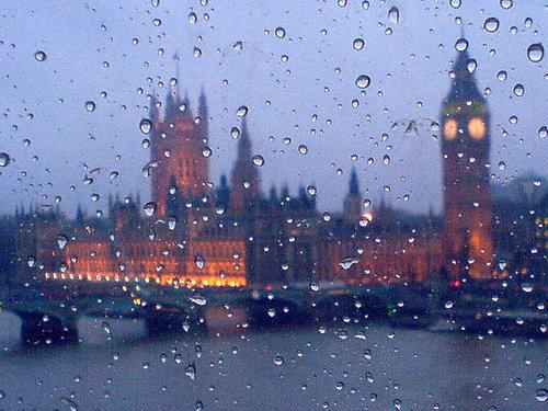 لندن بارانی، کمآب میشود؟
