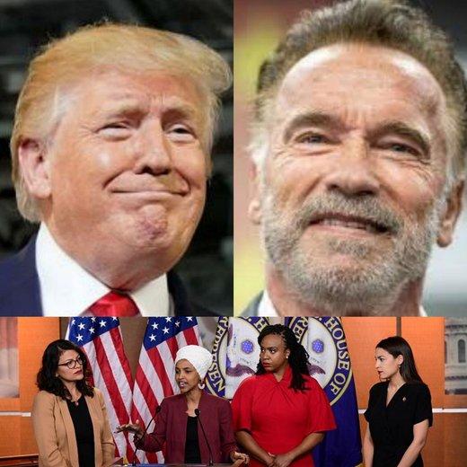 واکنش تند آرنولد شوارتزنگر به سخنان توهینآمیز ترامپ