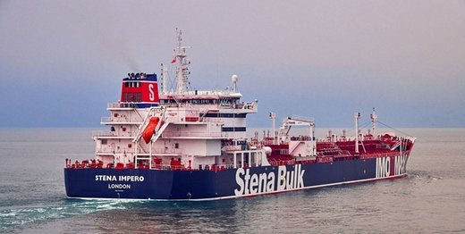 یک نفتکش انگلیسی در حال حرکت به سمت ایران است/لندن: احتمالا توقیف شده است