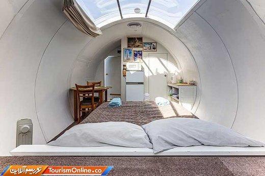 اقامت در آپولو ۱۱ در پوکاکی –نیوزیلند- شبی ۱۱ دلار!