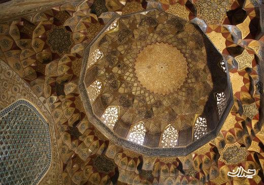چکیده هنر معماری در مسجد میدان گنجعلی خان کرمان
