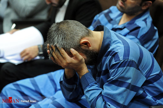 جلسه محاکمه عاملان قتل علیرضا شیرمحمدعلی