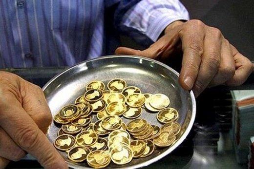 کاهش ۶۰ هزار تومانی نرخ سکه / حباب سکه ۲۰ هزار تومان شد
