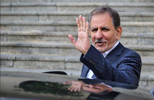 Jahangiri to attend Caspian Economic Forum