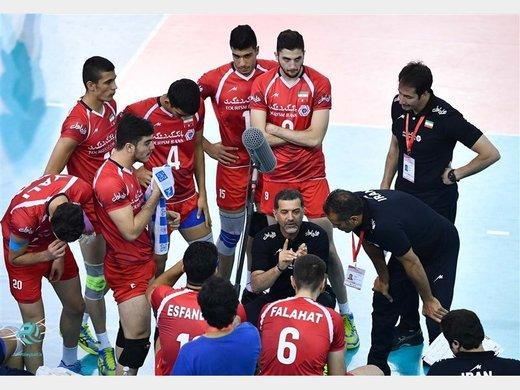 جوانان والیبال ایران گام اول برای صعود را محکم برداشتند