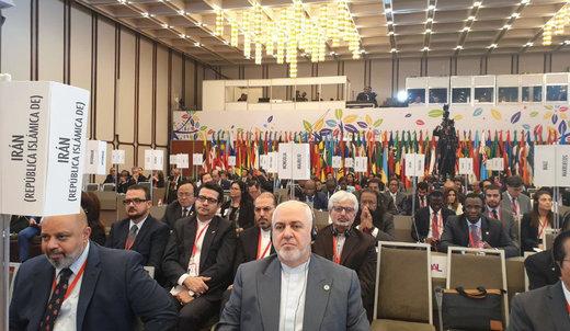 ظريف : اي مبادرة تتعارض وحقوق الشعب الفلسطيني ستبوء بالفشل