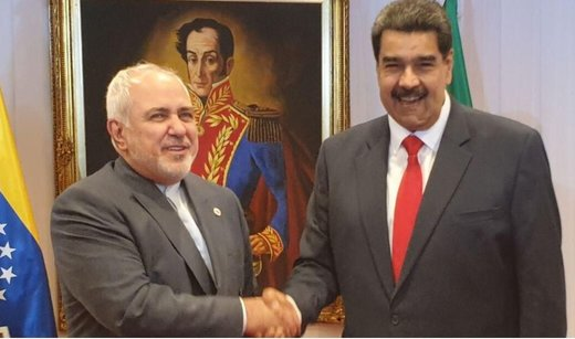 Zarif, Maduro discuss bilateral ties