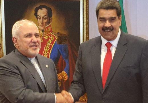 فیلم | خوش و بش گرم ظریف و مادورو در ونزوئلا