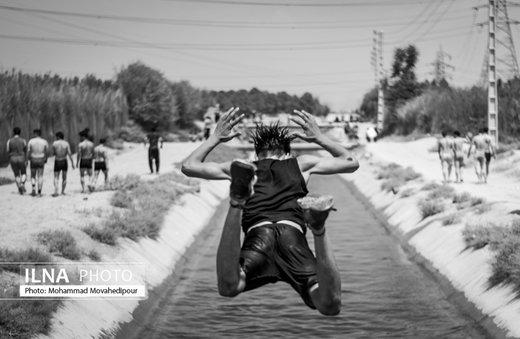 تفریحات تابستانی در حاشیه شهر تهران