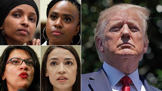ترامپ خواستار عذرخواهی نمایندگان زن کنگره شد