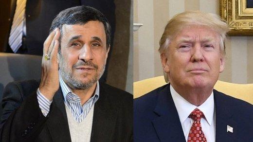 برنامه ۲ نفره احمدینژاد و ترامپ برای اداره دنیا!