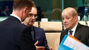 بیانیه هانت به همراه وزرای خارجه آلمان و فرانسه درباره تنگه هرمز