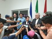 Fm Zarif in Nicaragua to discuss politico-economic issues