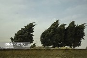 وزش باد شدید در ۱۰ استان کشور