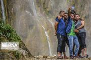 تصاویر | پیکنیک، پای آبشار سمیرم