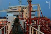 عکس | کماندوهای سپاه روی عرشه نفتکش انگلیسی