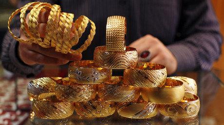 گزارش رویترز از کاهش شدید قیمت طلا در ایران