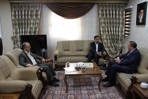 دیدار مدیرکل راه و شهرسازی با فرماندار ویژه شهرستان کرج