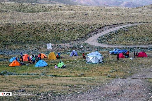 صعود تابستانی به کوه ساوالان