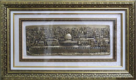 تصویری از هدیه مقام دفتر سیاسی حماس به رهبری