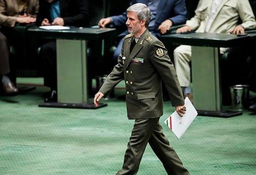 وزير الدفاع: القوات المسلحة الإيرانية مستعدة تماما لمواجهة أي خطر في المنطقة