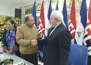ظریف از یک توافق خبر داد/عکس