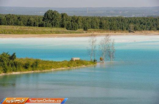 دریاچهای در نووسیبیرسک روسیه