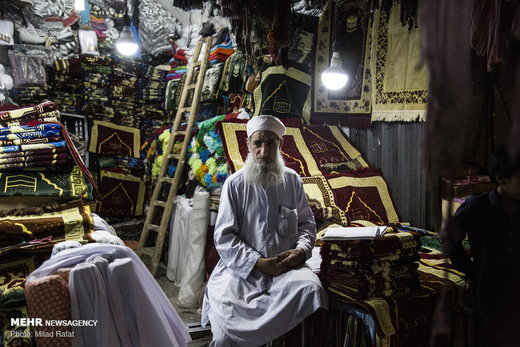 کسب و کار مهاجران افغانستانی در بازار زاهدان