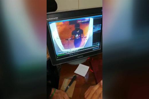 فیلم   دزدی که در خرمآباد به کاهدون زد!