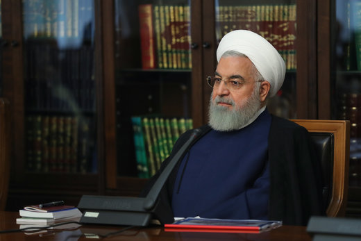 Rouhani expresses condolences on passing away of Tunisian president