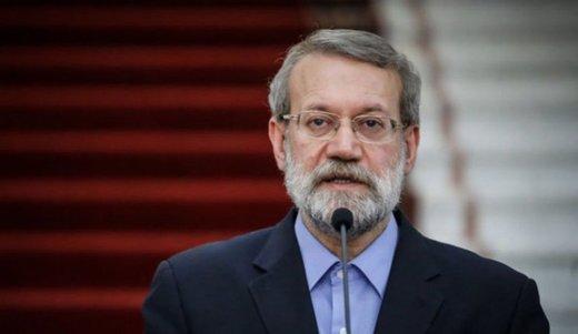 لاریجانی: توطئه به صفر رساندن صادرات نفت ایران بیشتر باعث اتحاد جناحهای سیاسی شد