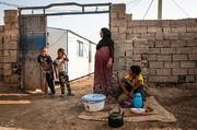 تصاویر | زندگی اسفناک مردم روستای «حمدان سلجه» ۵ ماه پس از سیل