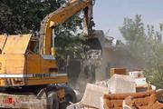 تصاویر   تخریب ساختمانهای غیرقانونی در رباط کریم