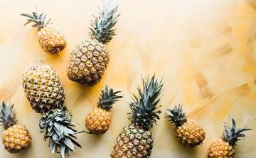 نوشیدنی آناناس با گندم سبز، برای درمان التهاب!