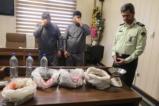 دستگیری سه شرور سابقهدار