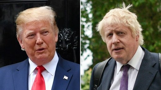 ترامپ: جانسون «ترامپ بریتانیا»ست