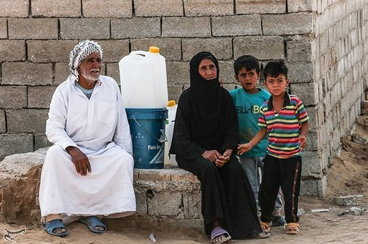 آخرین وضعیت روستای سیلزده روستای حمدان سلجه