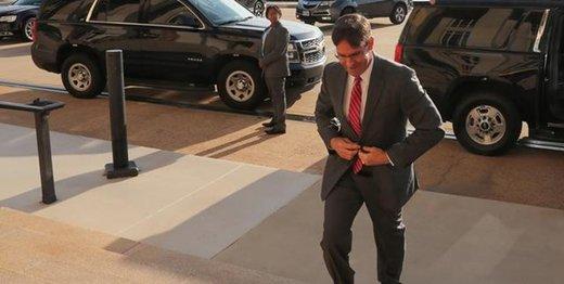 سفر وزیر حنگ آمریکا به غرب آسیا
