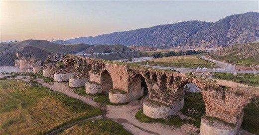 آغاز مرمت پل تاریخی کشکان