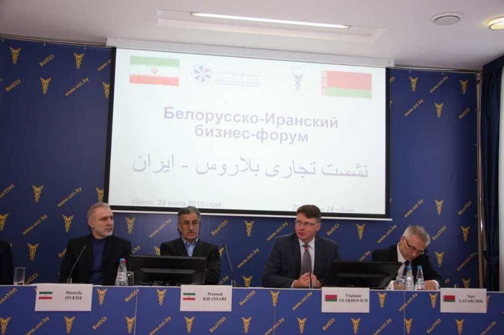 Iran Embassy in all-out support for trade with Belarus: Ambassador