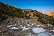 تصاویر | چشمه نمک سرآقاسید کوهرنگ