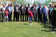 تصاویر | افتتاح سایت آموزشی گلف در ارومیه
