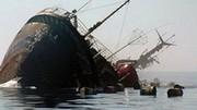کشتی ایرانی در خزر غرق شد