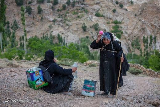 روستای سرآقاسید استان کهگیلویه و بویراحمد