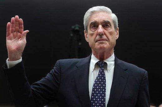 شهادت دادن رابرت مولر، بازرس ویژه پرونده مداخله روسیه در انتخابات آمریکا، در مجلس نمایندگان واقع در ساختمان کاپیتال هیل شهر واشنگتندیسی آمریکا