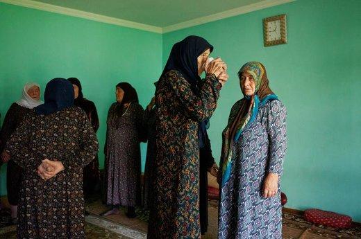 زنان در مراسم سنتی صوفیان در گرجستان