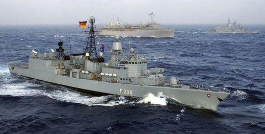 آلمان تصمیمش را برای پیوستن به ائتلاف دریایی انگلیس اعلام کرد
