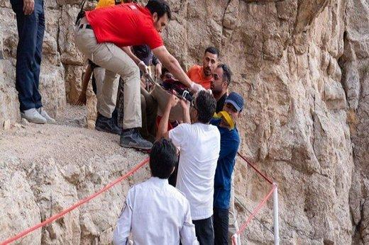 سقوط از کوه صفه مرگ مرد ۴۰ ساله را رقم زد